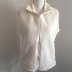 Lands End |. Fleece vest. Small (6-8)